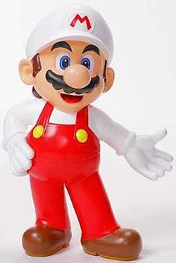 Fire Mario 50cm Statue