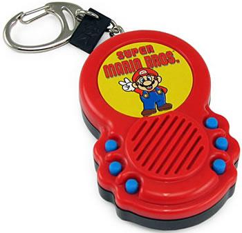Super Mario Sound FX Keychain