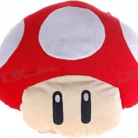 Mario Mushroom Vibrating Massage Pillow
