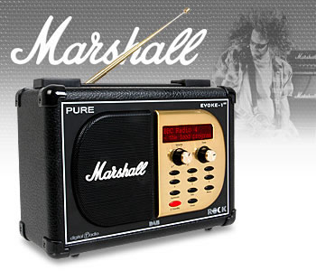 Pure 1xt Marshall DAB Digital Radio