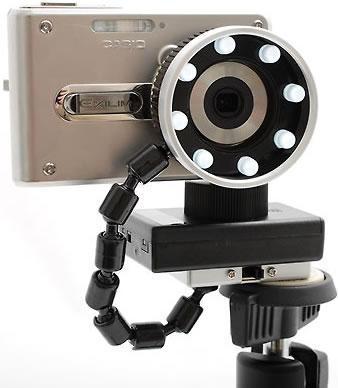 Marumi LED-8 LED Macro Ring Light for Compact Digital Camera
