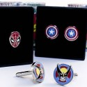 Marvel Superheroes Cufflinks