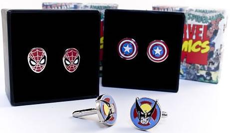 Marvel Superheroes Cufflinks