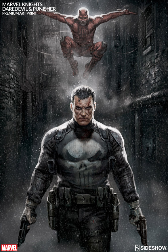 marvel-knights-punisher-&-daredevil-premium-art-print-500384-05