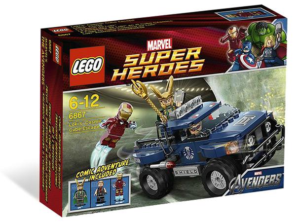 Marvel Avengers Super Heroes LEGO #6867