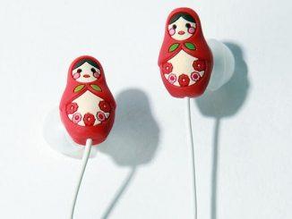 Matryoshka Doll Headphones