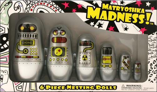 Matryoshka Madness Robot