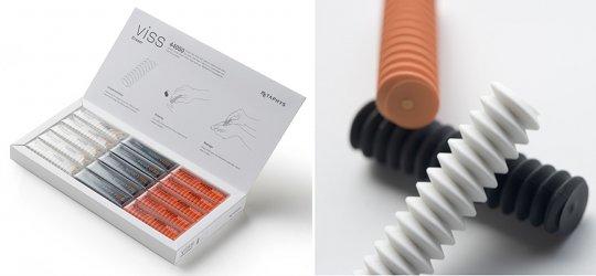 Metaphys Viss Spiral Eraser Set