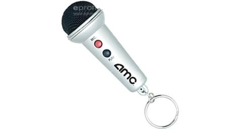 Mini Microphone Keychain Voice Recorder