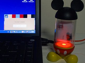 Mickey Mouse USB Email Alert