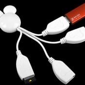 Disney Mickey Mouse USB Hub Cable
