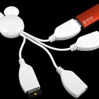 Disney Mickey Mouse USB Hub Cable