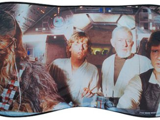 Millennium Falcon Car Sun Shade