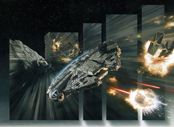 Millennium Falcon Artwork