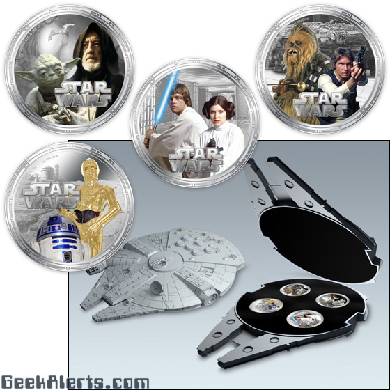 Millennium Falcon Coin Set