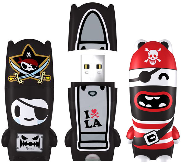 Mimobot Pirate USB Flash Drives