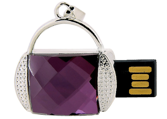 8GB Mini Purse USB Flash Drive