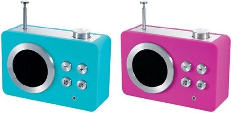 Mini-Dolmen Clock Radio