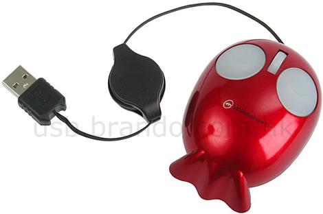 USB Mini-Fish Optical Mouse