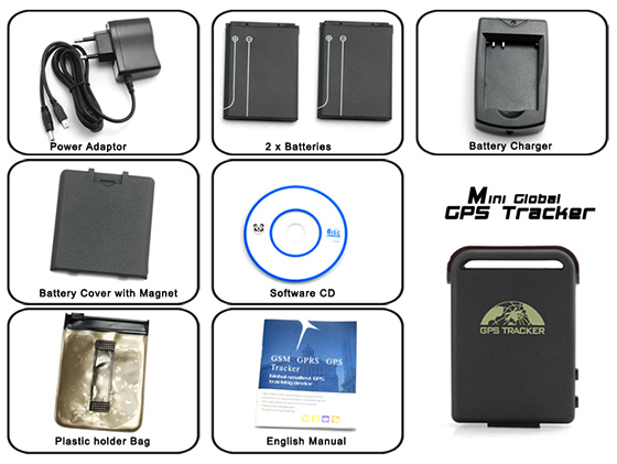 Mini GPS Tracker Set