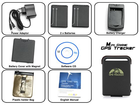 Mini GPS Tracker Set