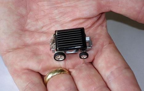 World S Smallest Solar Car