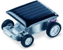World's Smallest Solar Racing Car