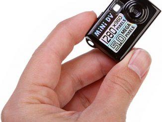Super-Tiny Spy Camera