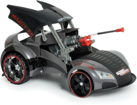 Missile Launching R/C Car