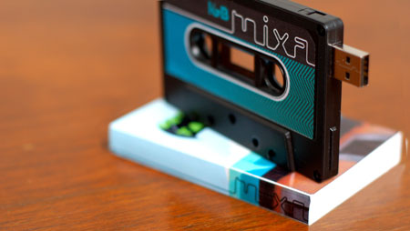 Cassette Tape USB Drive