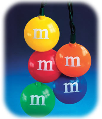 M&M Christmas Lights