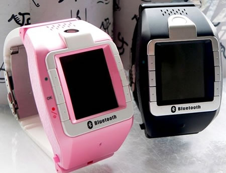 Mobile Phone Watch with Camera and Bluetooth
