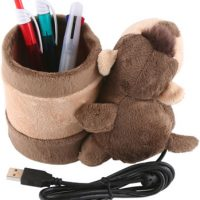 Monkey USB Webcam with Pen Holder