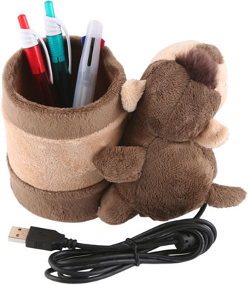 Monkey USB Webcam with Pen Holder