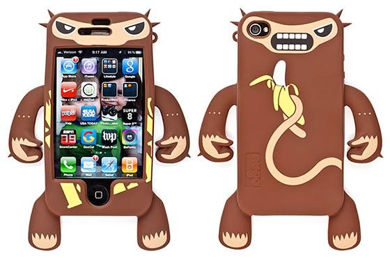 Monkey Robotector iPhone Case