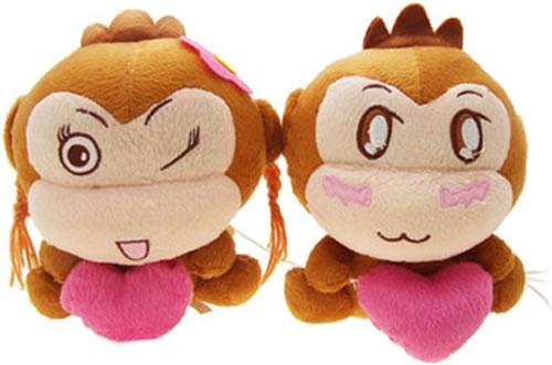 Plush Monkey USB Speakers