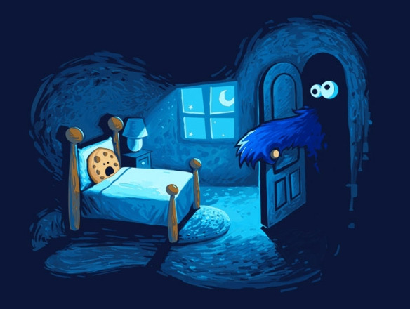 Cookie Monster in the Closet T-Shirt