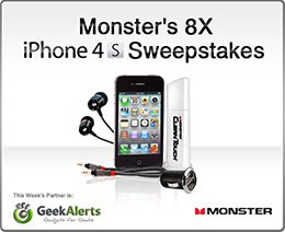 Monster iPhone 4S Sweepstakes Giveaway