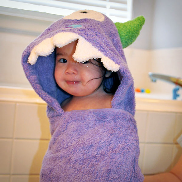 Monster Kids Hooded Towels