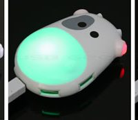 Illuminating Cow USB Hubs