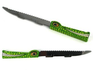 Mordicus Crocodile Bread Knives
