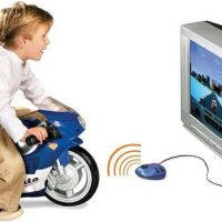 Plug and Play Motorcycle Game