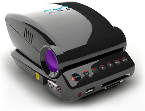 Mini LED Projector by Honlai Technology