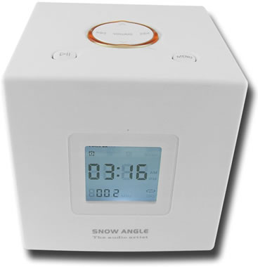 MP3 and Radio Alarm Clock