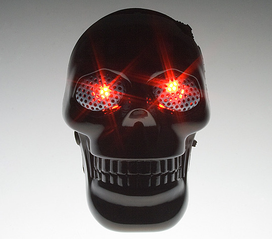 Human Skull USB MP3 Player with Speaker