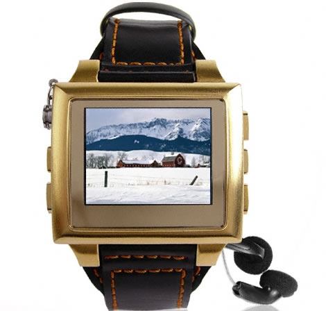 Gold Edition MP4 Watch