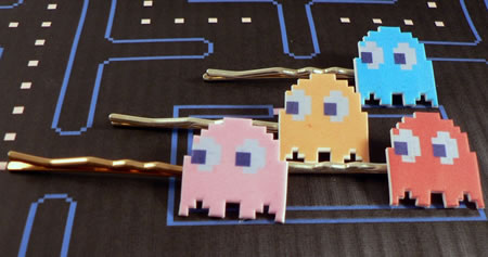 Ms. Pac-Man Bobby Pins