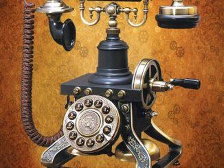 museum replicas Steampunk Telephone