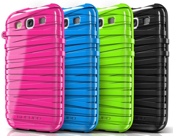 musubo rubberband S3 case
