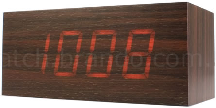 Mysterious Wood Clock
